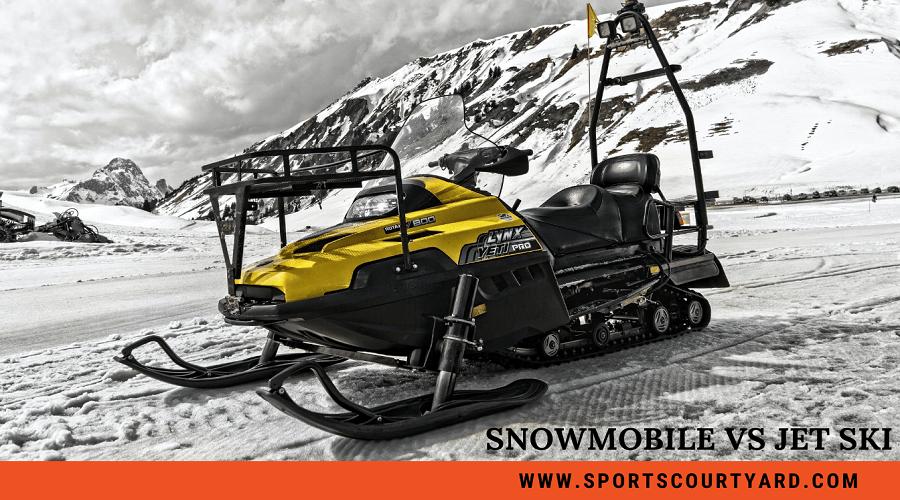 Snowmobile Vs Jet Ski