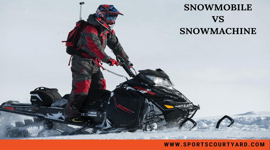 Snowmobile vs Snowmachine