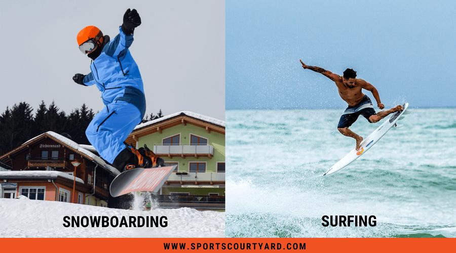 Snowboarding Vs Surfing